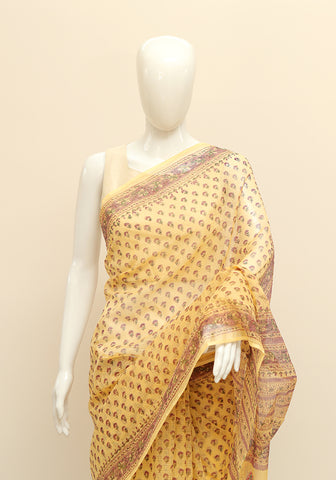Block Printed Kota Saree Design 12