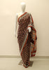 Block Printed Chanderi Saree Design 12