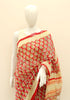 Block Printed Chanderi Saree Design 14
