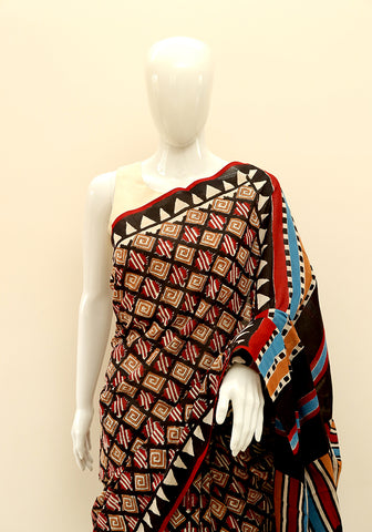 Block Printed Mul Cotton Saree Design 16