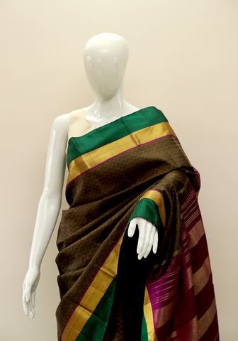 Kanchipuram Silk Saree Design 9