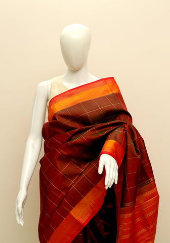 Kanchipuram Silk Saree Design 17