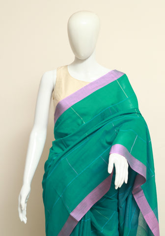 Handloom Cotton Saree Design 6