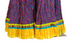 Crinkled Long Blockprinted Skirt Design 9