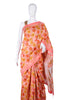 Block Printed Chanderi Saree Design 8