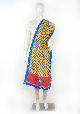 Block printed Dupatta Design 2