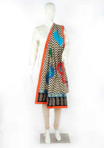 Block printed Dupatta Design 3