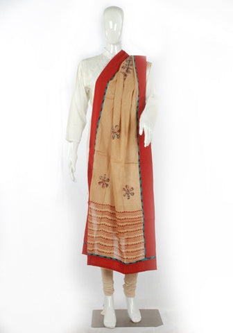 Block printed Dupatta Design 4