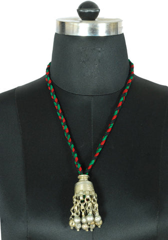 Antique Afghan Jhumka Necklace Design 4