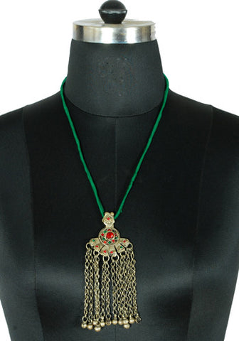 Antique Afghan Necklace design 13