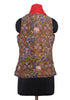Kalamkari Reversible Jacket Design 4