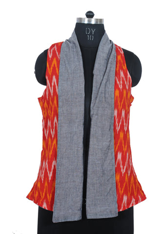 Ikat Reversible Jacket Design 12
