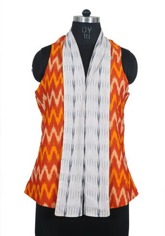 Ikat Reversible Jacket Design 11