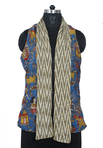 Ikat Reversible Jacket Design 8