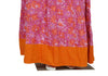 Pink and Orange Blockprinted Skirt