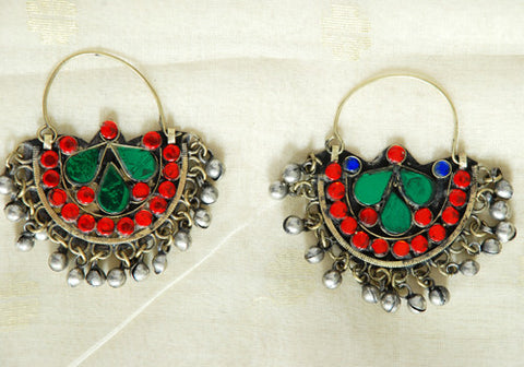 Tribal Afghan Earrings Design 26