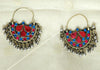 Tribal Afghan Earrings Design 28