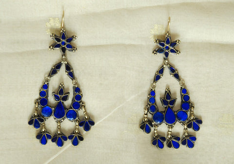 Tribal Afghan Earrings Design 35