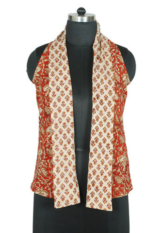 Blockprinted Reversible Jacket Design 6