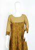 Light Brown and Mehendi Green Ajrakh Printed Kurta