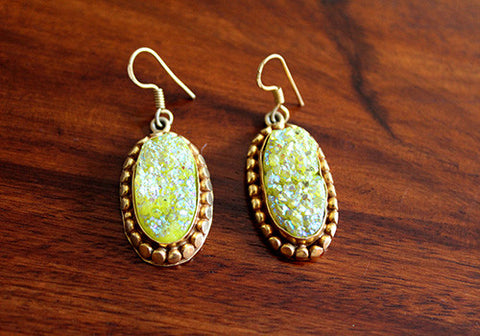 Druzy Earring design 1