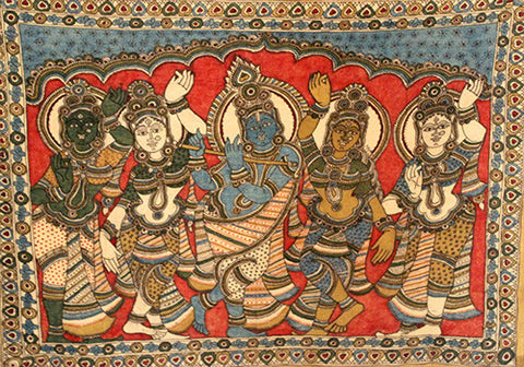 Kalamkari Painting Design 3