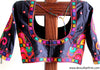 Black Kutch Work Blouse Design 1