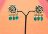 Silver Jadau Earrings Design 14