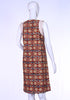 Maroon Kalamkari Tunic Dress