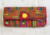 Vintage Kutch Embroidery Clutch (Design 35)