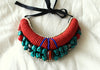 Tribal Bib Necklace design 11