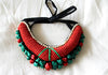 Tribal Bib Necklace design 17