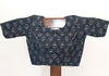 Grey and Blue Blockprinted Blouse