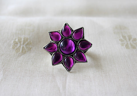 Tribal Afghan Ring Design 5
