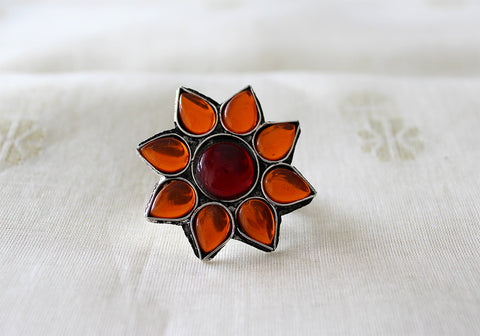 Tribal Afghan Ring Design 7
