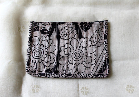 Kalamkari Multi function Travel Cosmetic bag  design 8 (small)