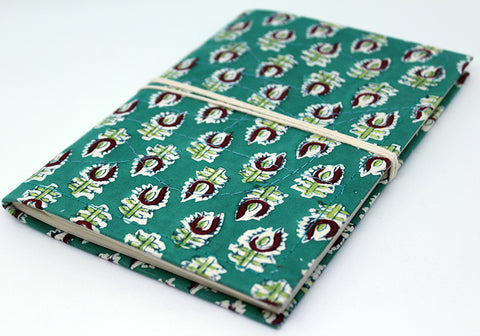 Notebook with Block Printed Cover Design 3