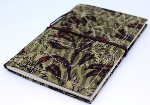 Notebook with Block Printed Cover Design 4