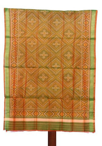 Light green Ikat Patola Dupatta