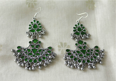 Tribal Afghan Earrings Design 101