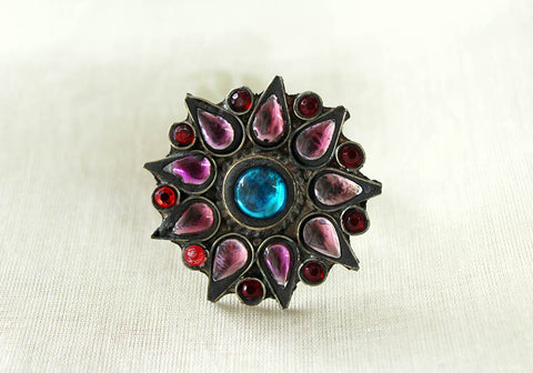 Tribal Afghan Ring Design 16