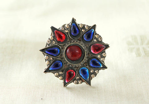 Tribal Afghan Ring Design 25