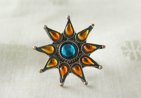 Tribal Afghan Ring Design 28