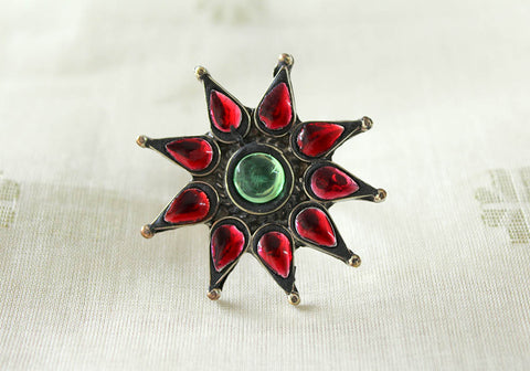 Tribal Afghan Ring Design 29