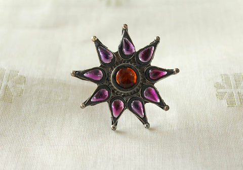 Tribal Afghan Ring Design 35