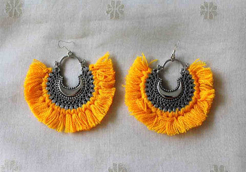 Tribal Afghan Earrings Design 123