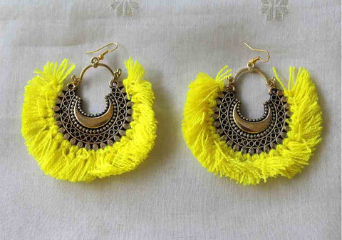 Tribal Afghan Earrings Design 125