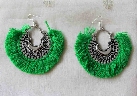 Tribal Afghan Earrings Design 126
