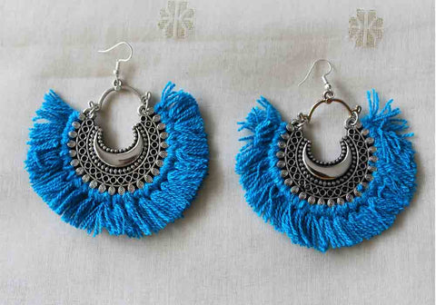 Tribal Afghan Earrings Design 127