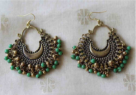 Tribal Afghan Earrings Design 156